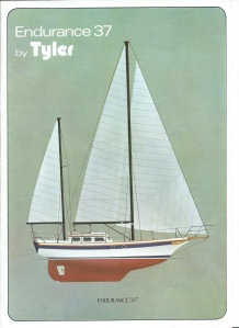 Tyler Boat Company Endurance-37-brochure front cover